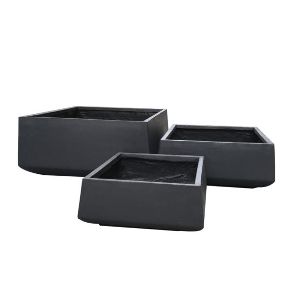 StoneLite-Romano-Low-Square-Pot-81030-charcoal