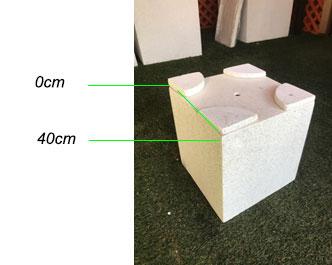 cube feet example
