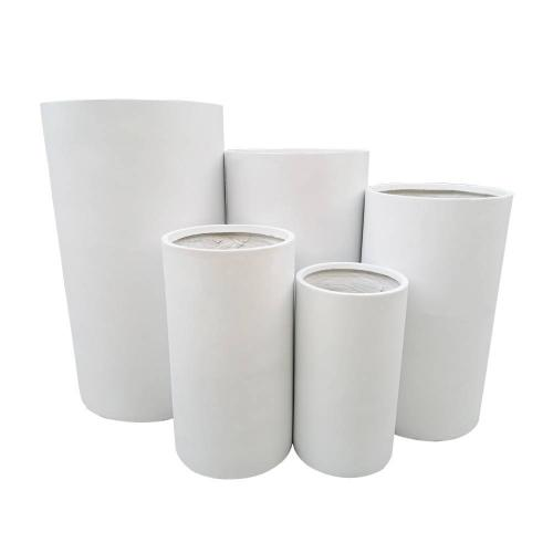 StoneLite-Tall-Cylinder-81215-White-Pots